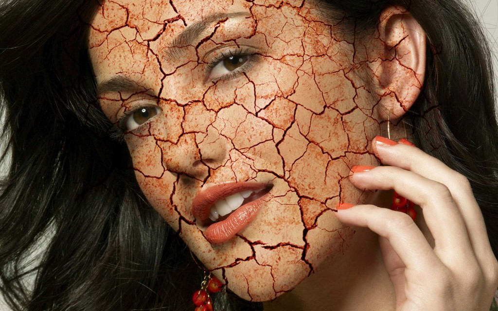 create a cool crack effect on face using photoshop