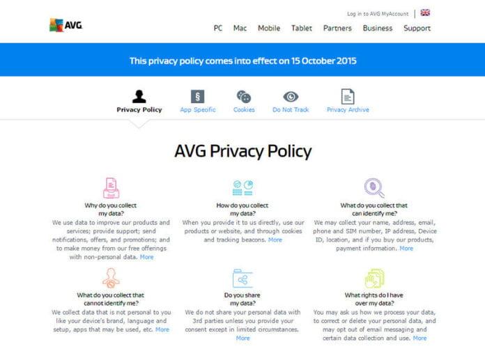 avg sell browsing data