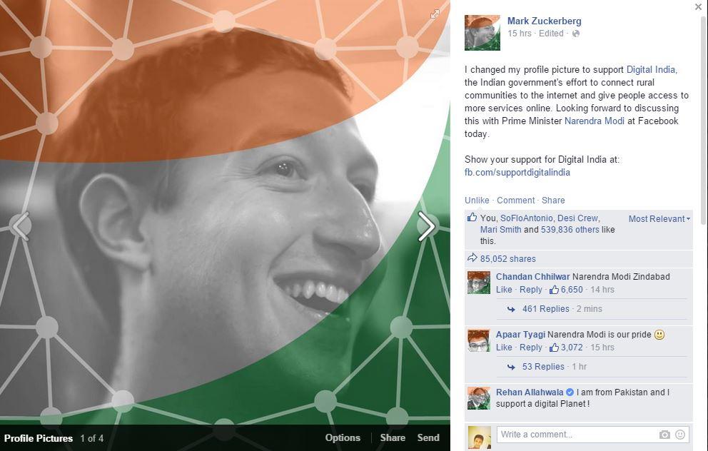 mark zuckerberg digital india