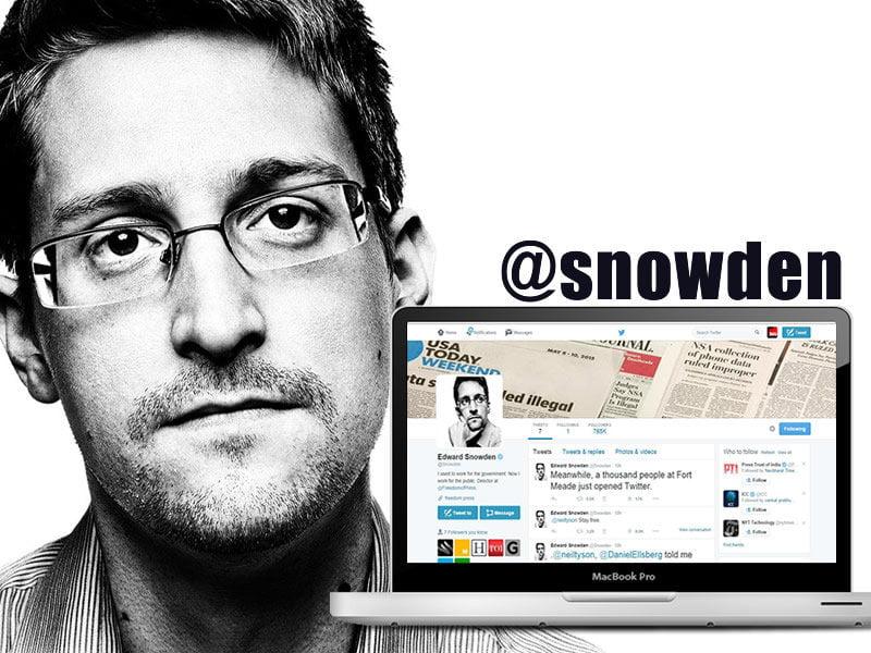 snowden twitter
