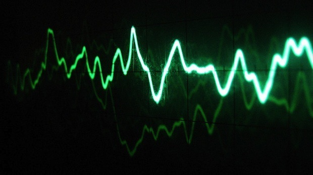 Sound Waves Move Data