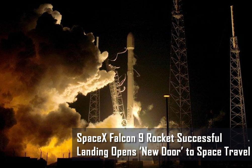 Elon Musk's SpaceX Falcon 9 Rocket