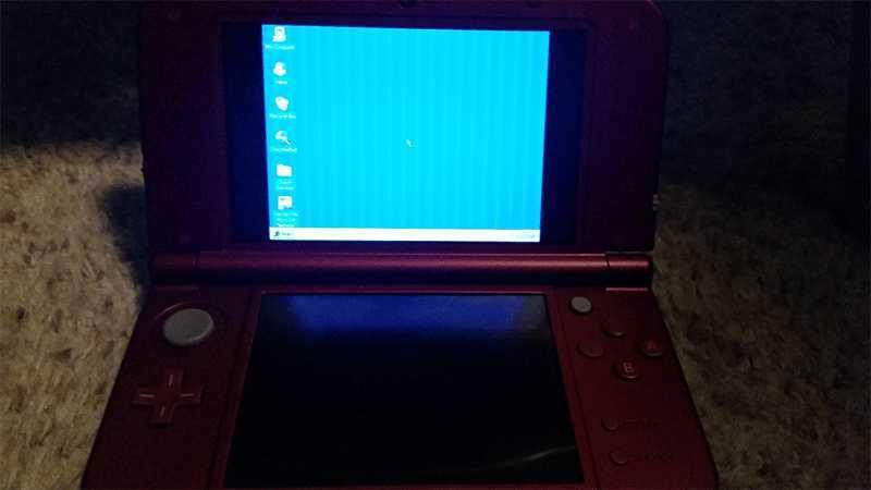 Nintendo 3DS XL can Run Windows 95