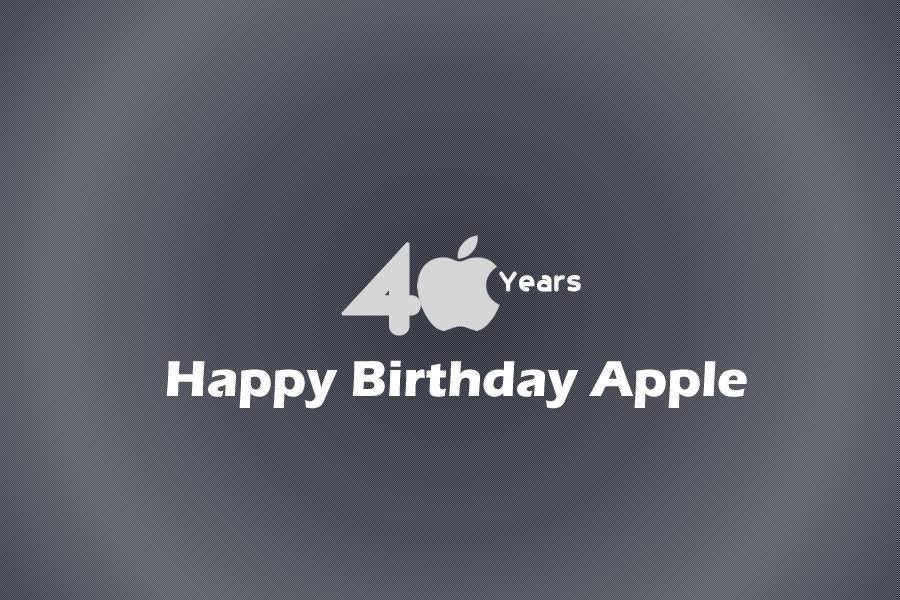 happy birthday apple's journey