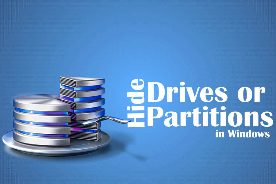 How to Hide Drives or Partitions in Windows 7/8/10
