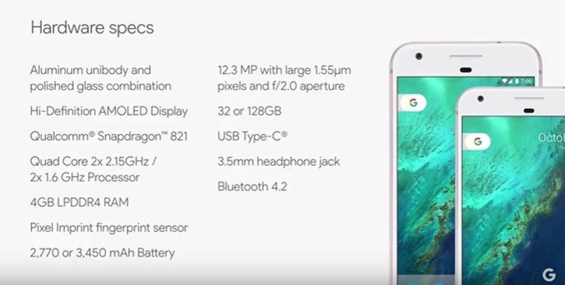 Google launches Pixel smartphones   Credits : Google