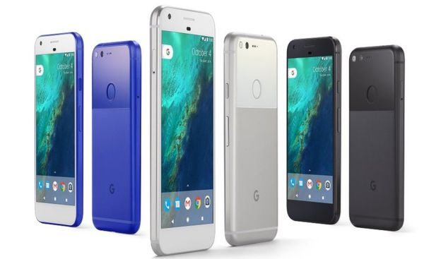 Google launched Pixel smartphones — rival to the iPhone