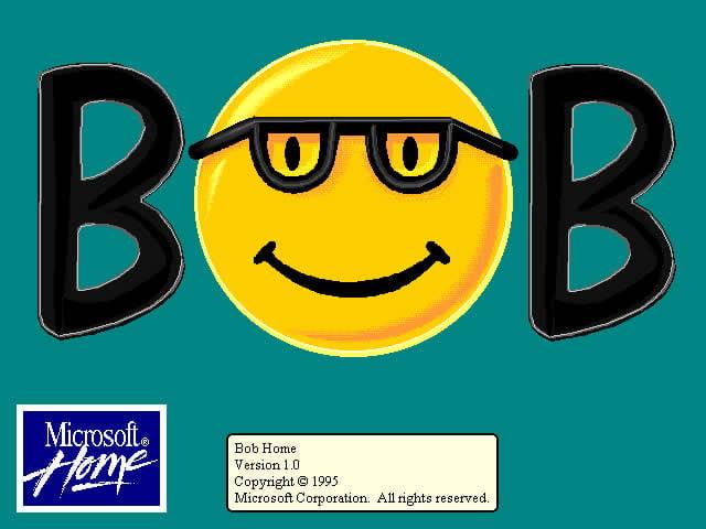 Failed Microsoft products - Microsoft Bob