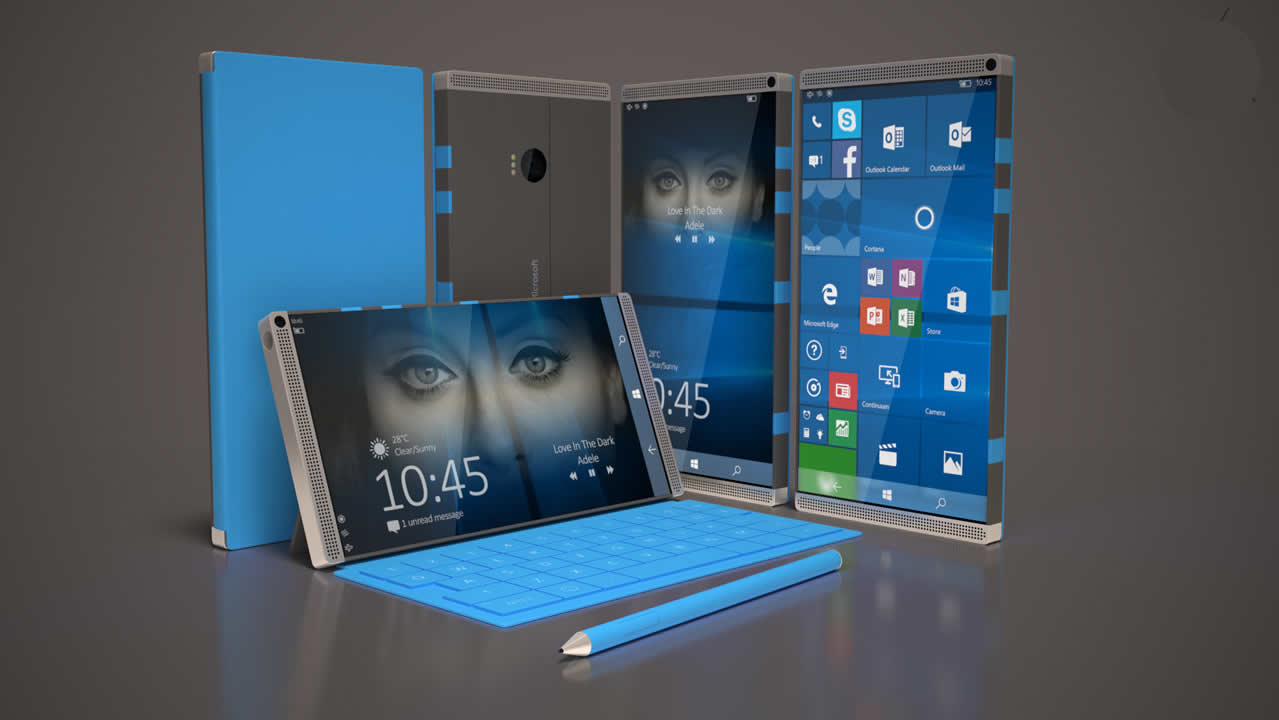 Microsoft working on a completely new smartphone Surface Phone