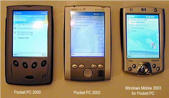 Failed Microsoft Products - Windows Mobile