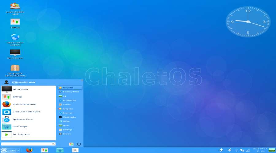 ChaletOS - alternative Linux distributions for Windows