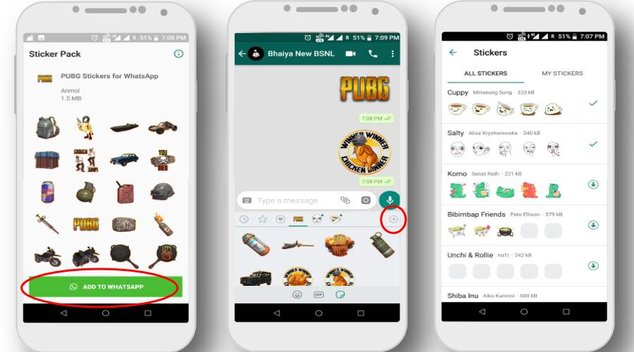 Activate WhatsApp Stickers On Android