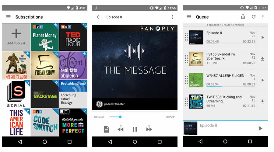 AntennaPod - Best open-source Android apps