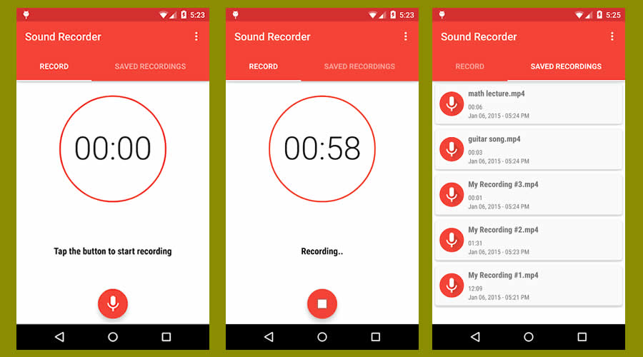 Easy Sound Recorder - Best open-source Android apps
