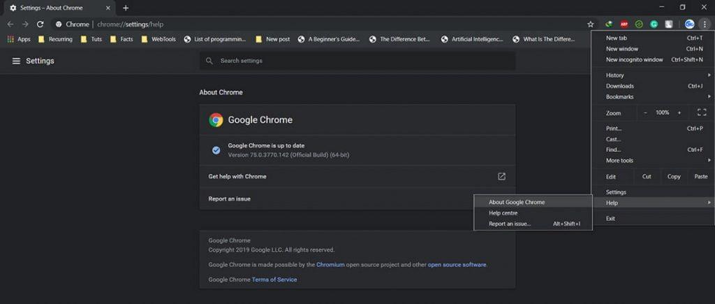 Enable reader mode in Google Chrome