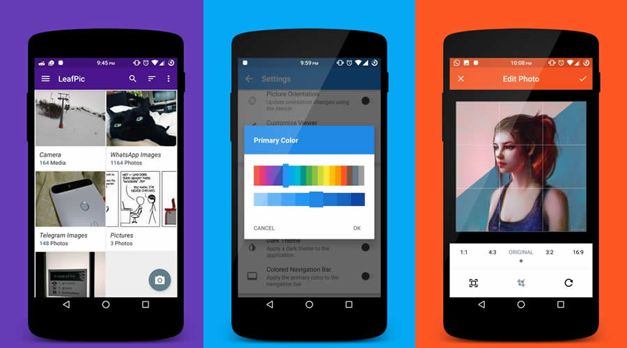LeafPic - Best open-source Android apps