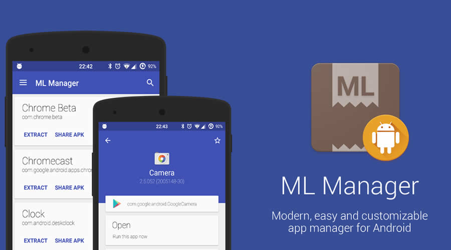 ML Manager - Best open-source Android apps