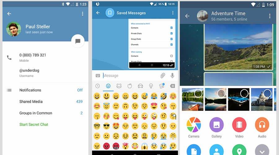 Telegram - Best open-source Android apps