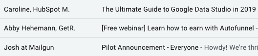 B2B Cold Emails