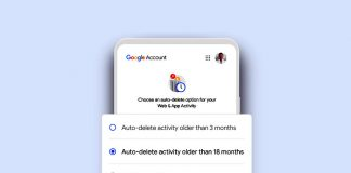 Google will auto-delete data it gets from new users